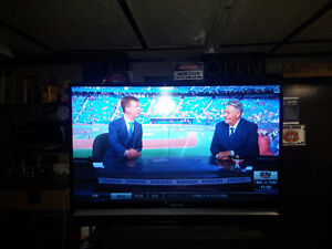 Samsung 61 inch dlp tv with extra bulb
