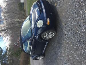 2003 Volkswagen Beetle Bleu nuit Cabriolet
