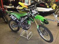 Clean 2006 Kawasaki kx250f