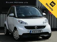 Smart ForTwo PURE MHD 1.0L 2dr Automatic Petrol 2013