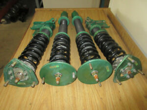 JDM NISSAN SILVIA 240SX S14 S15 ADJUSTABLE COILOVERS SUSPENSION