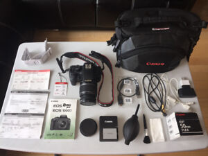Canon Rebel XS Camera Full Kits with 50mm Extra Lens
