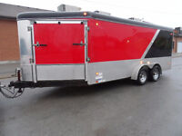 21ft Drive Thru, United Top of the Line Multi Use Trailer,