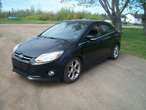 For Sale 2012 Ford Focus SEL.