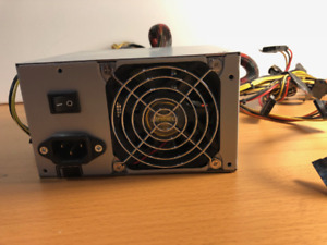 Bloc d'alimentation (power supply)  ATX,  Antec AE-500D, 500 W