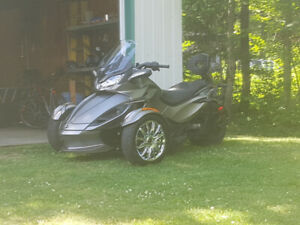 Can am spyder st limited