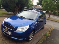 Chevrolet Aveo Blue 1.2 CHEAP CAR