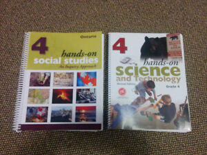 Gr 4 Science and Social Studies -teacher resource