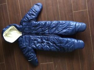 Baby boy one piece snowsuit