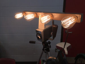 Vintage collaboration to create a photographic light