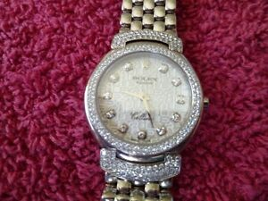 SPECTACULAR ROLEX 18K WHITE GOLD SET WITH 242 ROLEX DIAMONDS