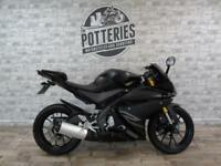 Yamaha YZF R125 ABS 2017 *900 miles and immaculate!*
