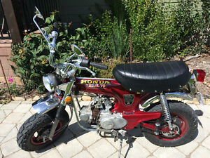 Like new 1973 Honda CT70