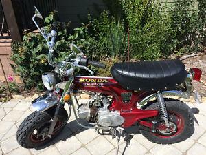 Like new 1973 Honda CT70