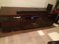 excellent condition TV stand