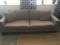 Large Sofa - must go - free delivery tomorrow