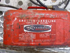 Vintage Mercury Boat Gas Tank