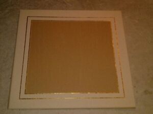 Matting and glass - for picture framing