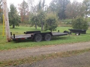 Heavy Duty 16ft Flat Deck - new MVI and Surge Brakes