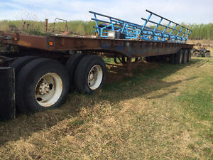 1985 Trailmobile 53 FT High Boy Trailer or Portable Bridge