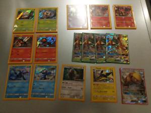 Pokemon Cards promo, ex, gx, rare