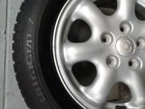 Tires on aluminum for sale