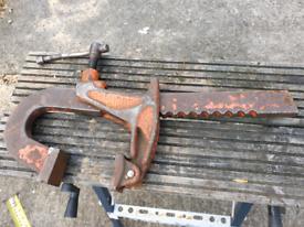 Carver clamp (heavy duty)