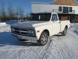 SOLD***Custom 1970 GMC Shortbox