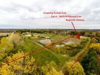 Country Estate Lot 4 Bayfield with Pond