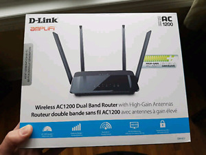 DLink DIR-822 B/G/N/AC Dual Band Wireless Router