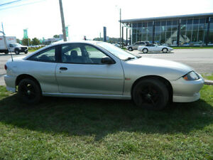2003 & 2000 Chevrolet Cavalier BOTH LOW KMS WITH SAFETY & ETEST