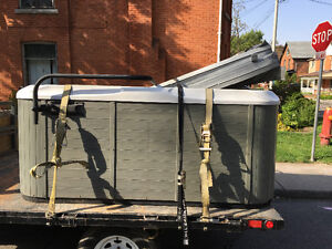 Hot tub moving & disposal new & used great prices & service