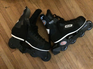 bauer pro roller skates size 8/9, also size 12