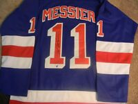 MARK MESSIER NEW YORK RANGERS AUTOGRAPHED JERSEY