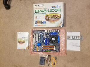 Gigabyte Motherboard + Intel CPU