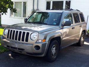 2008 Jeep Patriot SUV, Crossover  MVI good until Aug.'19