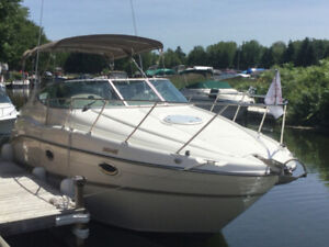 Maxum 2000 2700SCR with Dinghy and Outboard