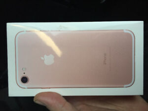 iPhone 7 32 gig brand new sealed box