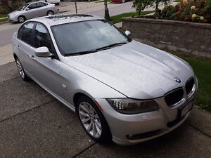 2011 BMW 3-Series Leather Sedan