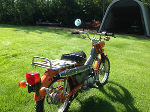 MAKE ME AN OFFER 1974 HONDA CT90 Very good condition