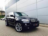 2010 10 reg BMW X5 3.0 xDrive35d M Sport Black + Cream Leather + Panoramic Roof
