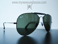 Rayban - OUTDOORMAN - Black - Large - Handmade in Italy