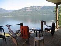 Lakefront Cabin Little Shuswap Lake