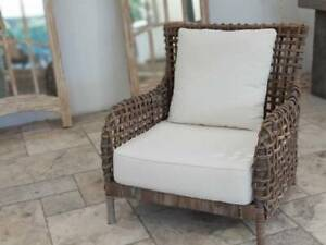 ARMCHAIR RATTAN CANE HAMPTON PROVINCIAL STLYE - NEW Bayview Pittwater Area Preview