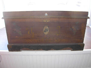 Early 1800's Pennsylvania Dower Chest