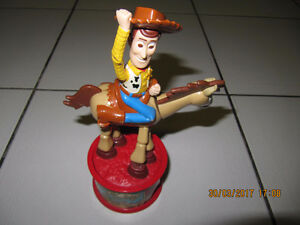 Collectible Toy Story 2 Woodys Roundup McDonalds Toy Circa 1999