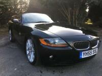 2005 BMW Z4 SE ROADSTER CONVERTIBLE 2.0 PETROL IN BLACK
