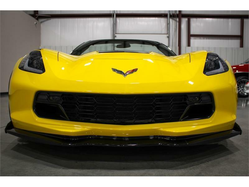 2019 Yellow Chevrolet Corvette Convertible 3LT | C7 Corvette Photo 8