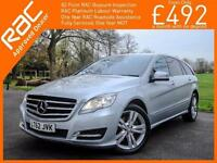 2012 Mercedes-Benz R CLASS R350L CDI Turbo Diesel 4Matic 4x4 7 Seater Auto Sat N