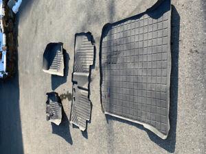 Ford Edge Whethertech floor mats